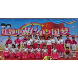 龙王小学庆六一诗朗诵《六一,我们心中的歌》勒索小学生图片