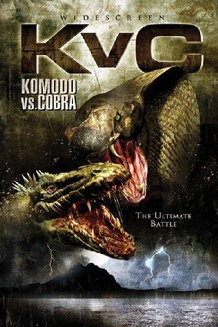 科摩多龙VS金刚巨蟒