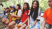 2014杭州各高校95后校花演绎世界杯主题曲WE ARE ONE