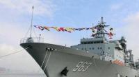 中国海军新型补给舰入列