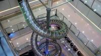 重庆商场现高空螺旋滑梯