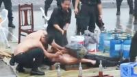 实拍越南警校非人训练