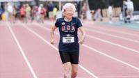101岁妇人刷新百米纪录
