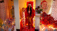 巴西囚犯庆祝圣诞节