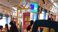 两位大妈公交车对骂大战 乘客崩溃