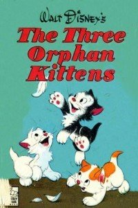 三只小孤儿猫