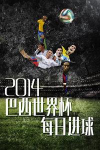 2014巴西世界杯每日进球小组赛