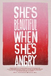 生气的她最美丽
