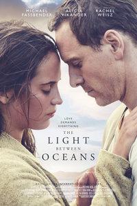 大洋之间的灯光