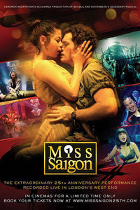西贡小姐二十五周年表演