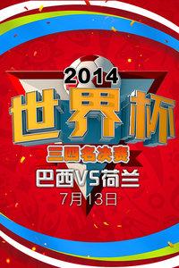 2014世界杯 三四名决赛 巴西VS荷兰 7月13日