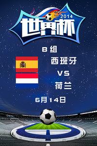 2014世界杯 B组西班牙VS荷兰 6月14日