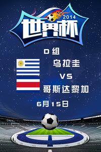 2014世界杯 D组乌拉圭VS哥斯达黎加 6月15日
