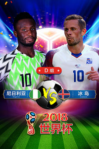 2018世界杯 D组尼日利亚VS冰岛