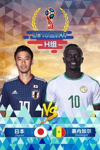 2018世界杯 H组日本VS塞内加尔