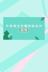 中考语文专题突破系列·阅读