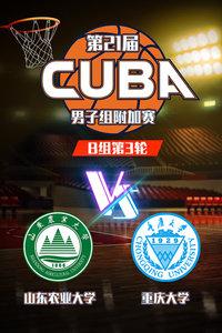 第21届CUBA 男子组附加赛B组第3轮 山东农业大学VS重庆大学