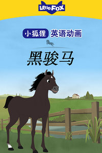LittleFox英语动画 黑骏马