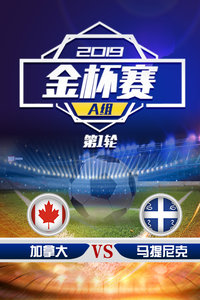 2019金杯赛 A组第1轮 加拿大VS马提尼克