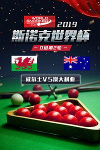 2019斯诺克世界杯 D组第2轮 威尔士VS澳大利亚