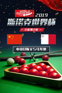 2019斯诺克世界杯 D组第2轮 中国B队VS马耳他