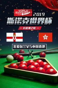 2019斯诺克世界杯 B组第2轮 北爱尔兰VS中国香港
