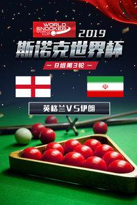 2019斯诺克世界杯 B组第3轮 英格兰VS伊朗