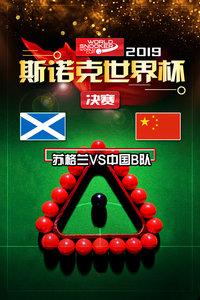 2019斯诺克世界杯 决赛 苏格兰VS中国B队