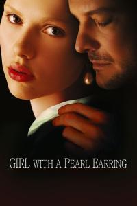 戴珍珠耳环的少女
