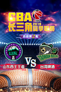 2019 CBA长三角夏季联赛 小组第2轮 山东西王王者VS台湾啤酒