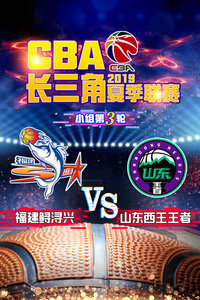 2019 CBA长三角夏季联赛 小组第3轮 福建鲟浔兴VS山东西王王者