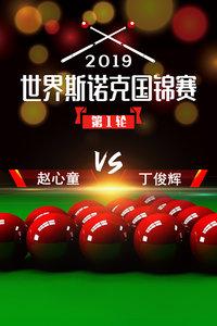 2019世界斯诺克国锦赛 第1轮 赵心童VS丁俊辉
