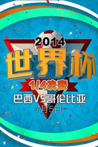 2014世界杯 1/4决赛 巴西VS哥伦比亚 7月5日