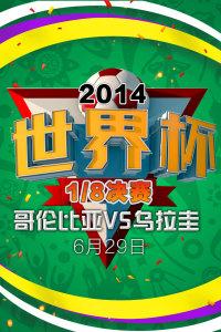 2014世界杯 1/8决赛 哥伦比亚VS乌拉圭 6月29日