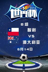 2014世界杯 B组智利VS澳大利亚 6月14日
