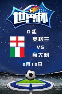 2014世界杯 D组英格兰VS意大利 6月15日