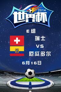 2014世界杯 E组瑞士VS厄瓜多尔 6月16日