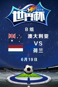 2014世界杯 B组澳大利亚VS荷兰 6月19日