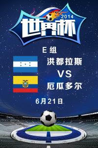 2014世界杯 E组洪都拉斯VS厄瓜多尔 6月21日