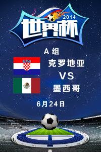 2014世界杯 A组克罗地亚VS墨西哥 6月24日