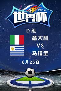 2014世界杯 D组意大利VS乌拉圭 6月25日