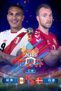 2018世界杯 C组秘鲁VS丹麦