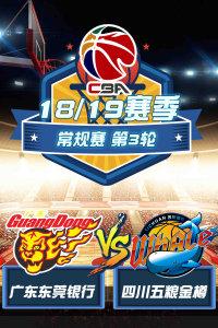 CBA 18/19赛季 常规赛 第3轮 广东东莞银行VS四川五粮金樽