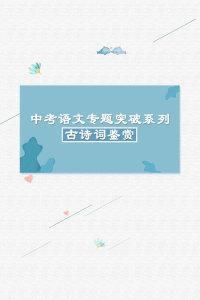 中考语文专题突破系列·古诗词鉴赏