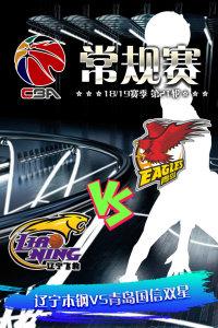 CBA 18/19赛季 常规赛 第21轮 辽宁本钢VS青岛国信双星