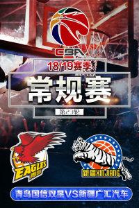 CBA 18/19赛季 常规赛 第23轮 青岛国信双星VS新疆广汇汽车