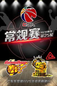 CBA 18/19赛季 常规赛 第25轮 广东东莞银行VS北京农商银行
