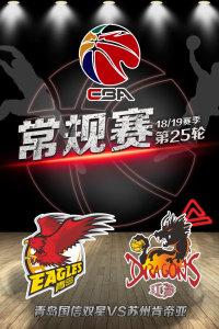 CBA 18/19赛季 常规赛 第25轮 青岛国信双星VS苏州肯帝亚