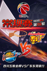 CBA 18/19赛季 常规赛 第26轮 四川五粮金樽VS广东东莞银行