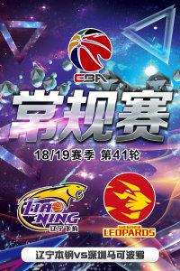 CBA 18/19赛季 常规赛 第41轮 辽宁本钢VS深圳马可波罗